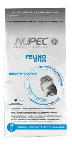 Imagen 1 de 5 de Croquetas Alimento Gato Nupec Kitten 3 Kg Edad Temprana