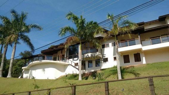 Casa Com 5 Dormitórios À Venda, 915 M² Por R$ 3.950.000 - Ivoturucaia - Jundiaí/sp - Ca12136