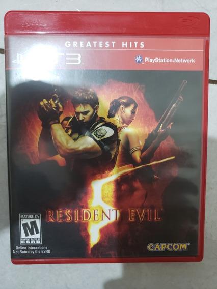 Resident Evil 5 Ps3 - Frete 10,00