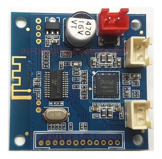 Modulo Amplificador Audio Estereo Bluetooth 2 X 10w Pam8610