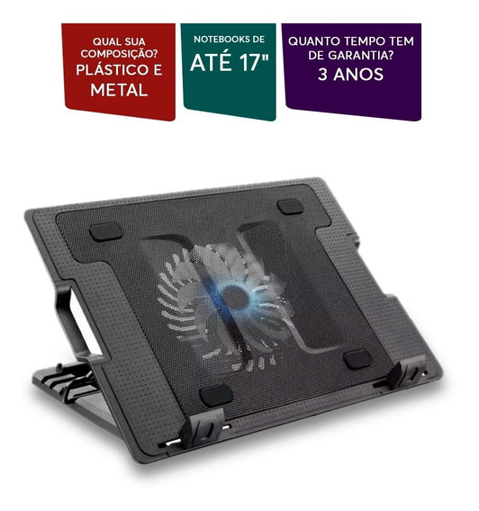 Base Cooler Para Notebook Vertical Multilaser - Ac166