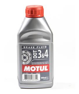Liquido De Freno Motul Dot 3&4 500cc Sintetico