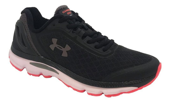 Tênis Under Armour Charged Sprint - Feminino - Preto/pink