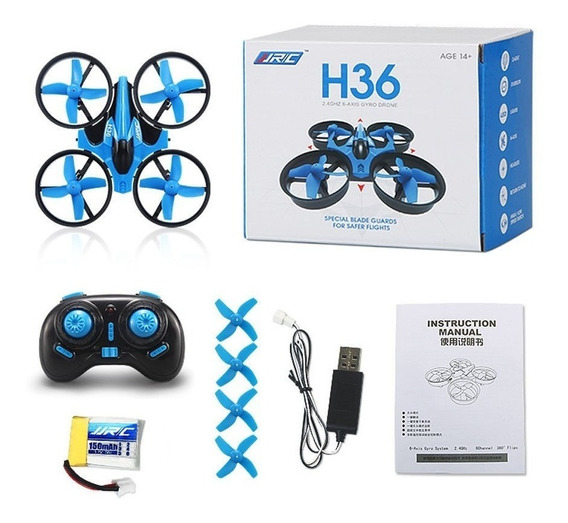 Mini Drone Jjrc H36 2.4g 4ch 6 Axis Headless -pronta Entrega