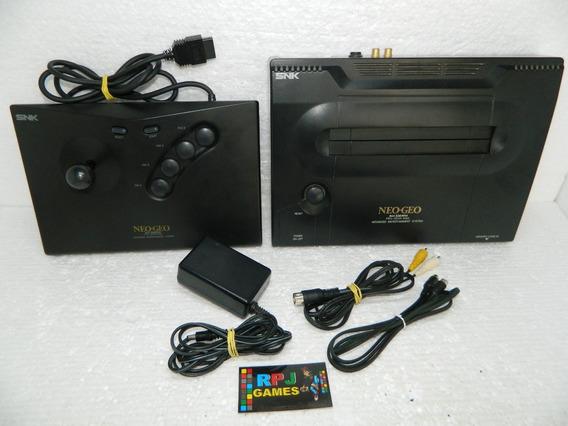 Neo Geo Aes Pronto Jogar C Controle Arcade E Fonte Originais