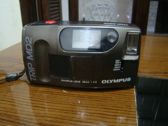 Camera Fotográfica Olympus Trip Md2 Funcionando