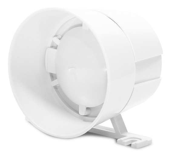 Sirene Eletrônica Morey Taty Light 120db Potente Branca Full