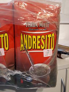 Yerba Mate Andresito X 10 Kg En Paq X 1 Kg. Envio Gratis!!!!