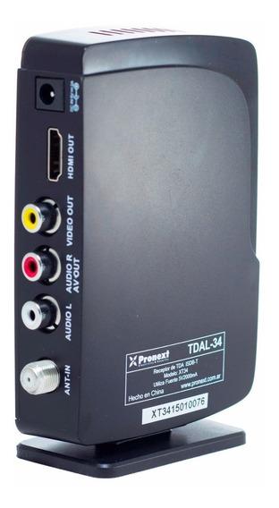 Sintonizador Digital Fullhd Hdtv Tda Isdb-t Usb Xt34