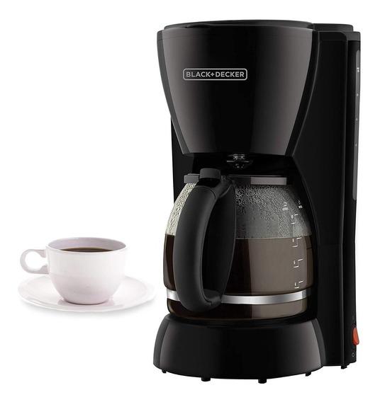 Cafetera Black & Decker 10 Tazas Automatica Negro