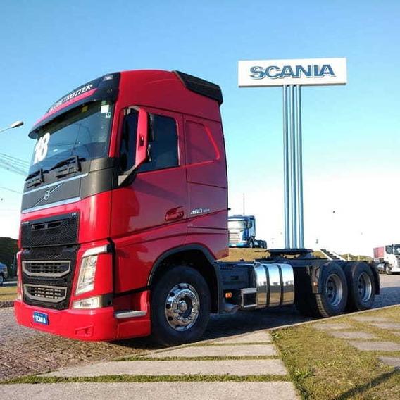 Volvo Fh 460, 6x2, 2018 Scania Seminovos Pr 0e60