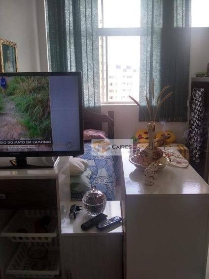 Kitnet Com 1 Dormitório À Venda, 33 M² Por R$ 90.000 - Centro - Campinas/sp - Kn0181
