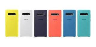Funda Silicone Case Samsung S10 S10e S10 Plus + Original