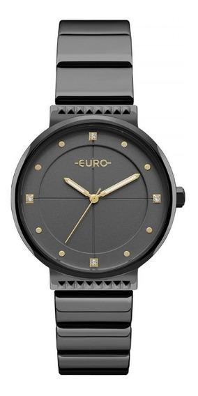 Relógio Euro Metal Glam Feminino Analógico Eu2035yob