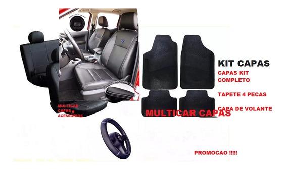 Kit Luxo 100% Fusca 1300 Jogo Capas Bancos Kit Tapetes Pedaleira Volante