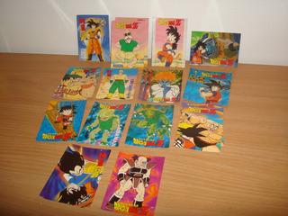 Dragon Ball Z Navarrete Saga Vegeta Lote De 20 Tarjetas