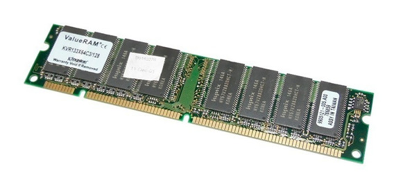 Memoria Dimm 128 Mb 133 Mhz 3.3 V Kingston Kvr133x64c3
