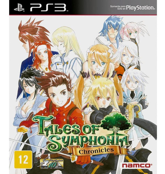 Tales Of Symphonia Chronicles Ps3 Midia Fisica