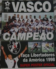 Pôster Vasco - Campeão Da Libertadores 1998