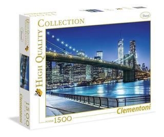 Clementoni Rompecabezas New York 1500 Piezas
