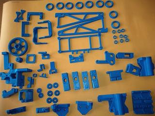 Kit Completo Piezas Plasticas Prusa I3 Marco Acero