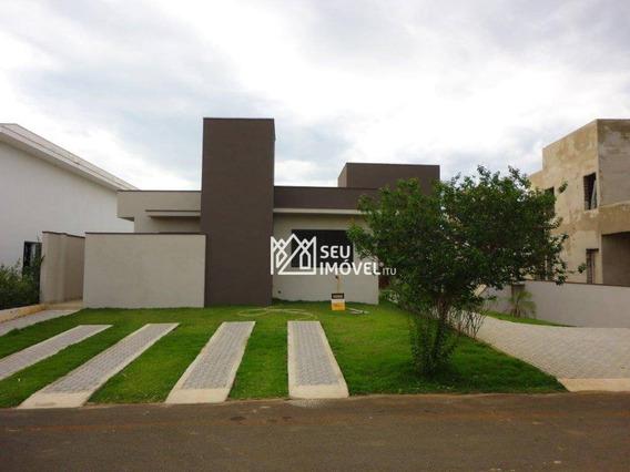Casa Residencial À Venda, Condomínio Palmeiras Imperiais, Salto. - Ca1458
