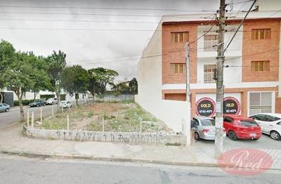 Terreno Rua Glicério - Centro - Suzano - Te0240