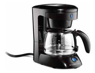 Andis 4-cup Cafetera Con Apagado Automático, Color Negr