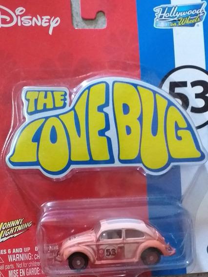 Miniatura Fusca Herbie Jhonny Lightning