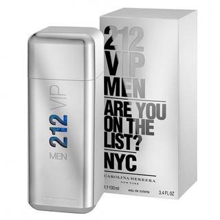 Perfume 212 Vip Men Ch - Masc Edt 100ml -100% Original