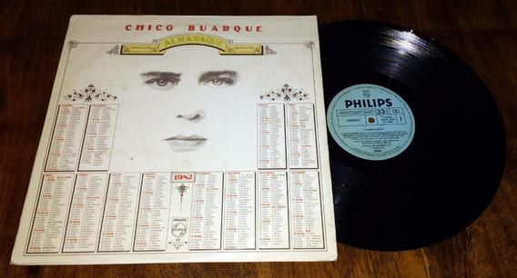 Chico Buarque Almanaque Disco Lp Vinilo