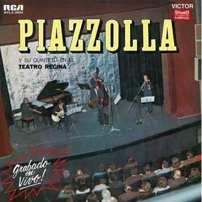 Astor Piazzolla Teatro Regina Vinilo Lp Nuevo En Stock