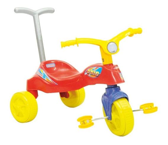 Triciclo Rayo Boy Con Barral Biemme 1412-b (3224)