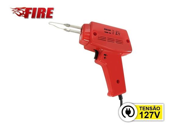 Ferro De Soldar Hikari Fire 150-127v