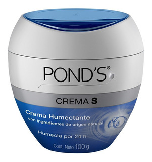 Crema Humectante Ponds Crema S Con Origel Natural 100g