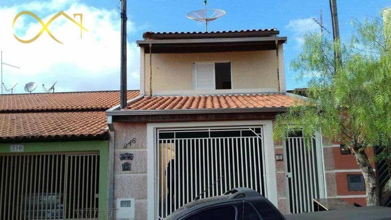 Casa Residencial À Venda, Jacinto Hackel Frem Aun, Cosmópolis. - Ca1057