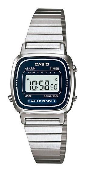 Promoção Relógio Casio Vintage Original La670wa-2df