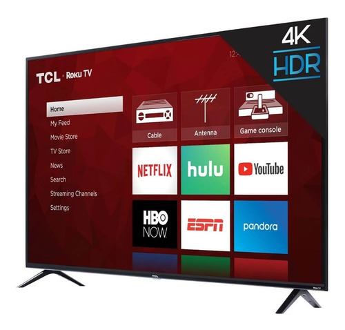 Smart Tv Tcl 4k Ultra Hd 55 Pulgadas