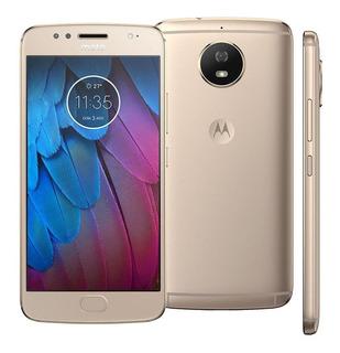 Celular Moto G5s 4g 32gb/3gb Ram Original Motorola Dourado