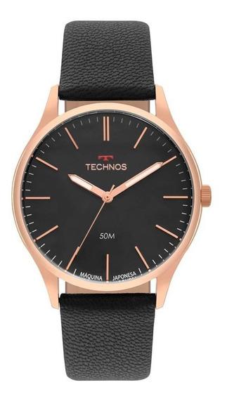 Relógio Technos Masculino Steel Slim 2035mqg/2p
