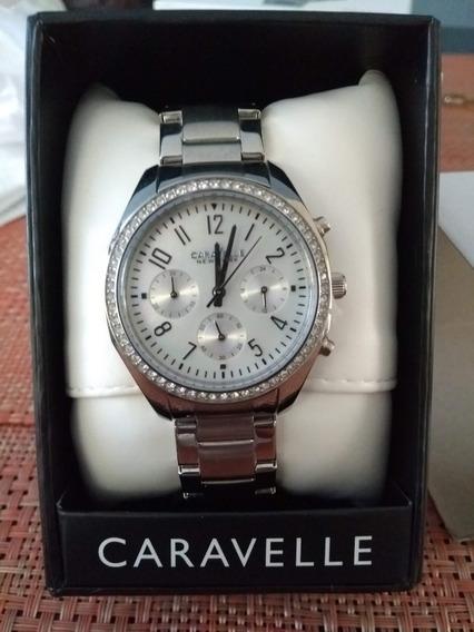 Reloj Dama Caravelle By Bulova Plateado 43l159