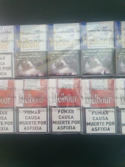 Cigarrillos Melbur Rojo Azul X 10 Atados