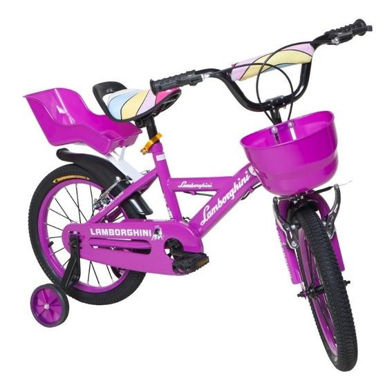 Bicicleta Infantil Rodado 16 Lamborghini 7115 Babymovil (v)