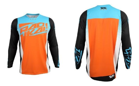 Jersey Remera Motocross Radikal Concept 2019 Nt