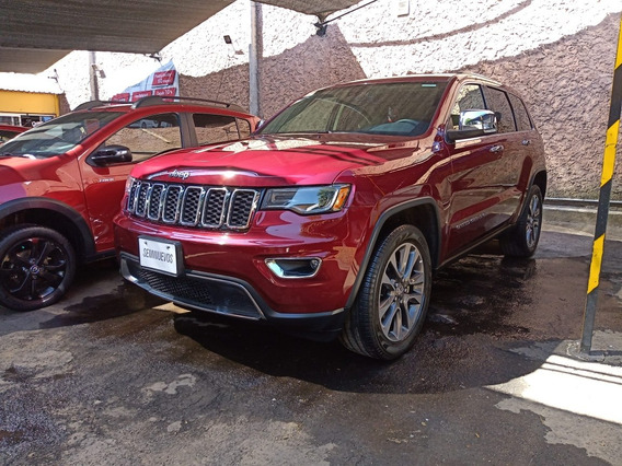 Jeep Grand Cherokee 3.6 Limited Lujo 4x2 Mt 2018