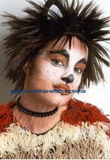 Maquillaje Artístico Infantil Fiestas Niños Y Adultos Cursos