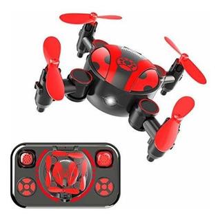 Mini Dron Rc Para Niños Y Principiantes Portátil De Bolsillo