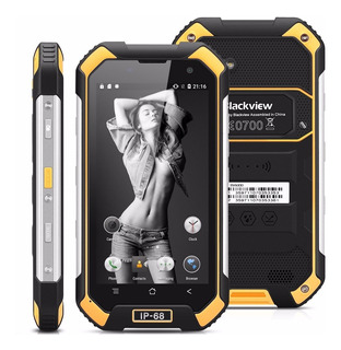 Celular Blackview Bv6000 Ip68 Resiste Agua Calor Amarillo