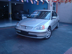 Honda Civic 1.7 Lx 2002 Impecavel