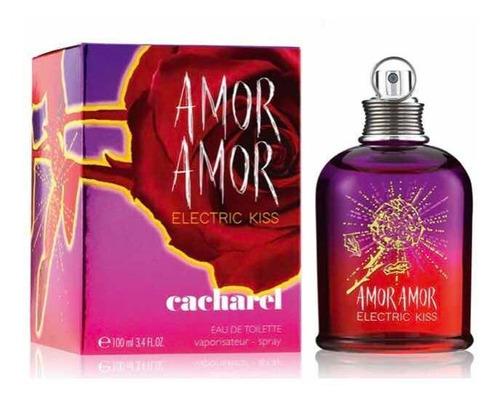 Perfume Cacharel Amor Amor Electric Kiss Mujer Edt 100 Ml